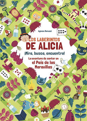 LOS LABERINTOS DE ALICIA  ( VV KIDS )