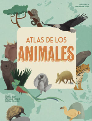 ATLAS DE LOS ANIMALES  ( VV KIDS )