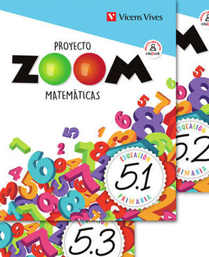MATEMATICAS 5º EP PROYECTO ZOOM ED. 2019
