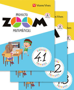 MATEMATICAS 4º EP PROYECTO ZOOM ED. 2019