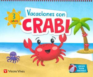 VACACIONES CON CRABI 3 AÑOS  ED. 2019