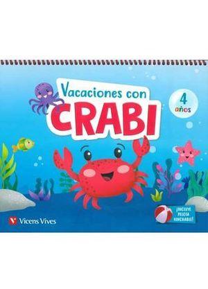 VACACIONES CON CRABI 4 AÑOS  ED. 2019