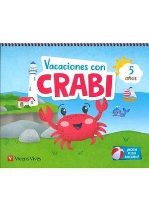 VACACIONES CON CRABI 5 AÑOS  ED. 2019