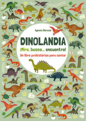 DINOLANDIA. MIRA, BUSCA Y ENCUENTRA.  ( VV KIDS )