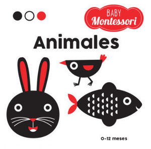BABY MONTESSORI.  ANIMALES  ( VV KIDS )