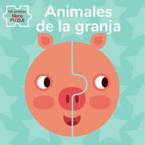 ANIMALES DE GRANJA. MI PRIMER LIBRO PUZLE (VVKIDS).