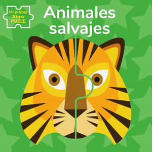 ANIMALES SALVAJES. MI PRIMER LIBRO PUZLE (VVKIDS).