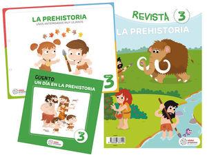 PROYECTO LA PREHISTORIA EDUCACION INFANTIL 3-5 AÑOS