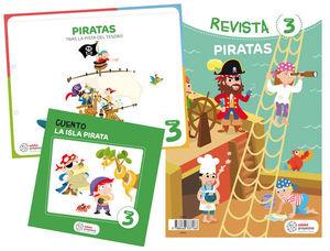 PROYECTO LOS PIRATAS EDUCACION INFANTIL 3-5 AÑOS