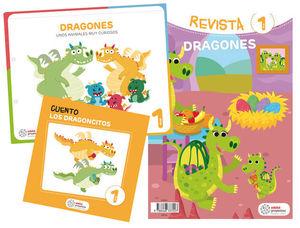 LOS DRAGONES EDUCACION INFANTIL