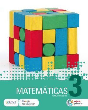MATEMATICAS 3º EP  ED. 2018