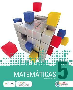 MATEMATICAS 5º EP  ED. 2018