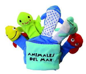 ANIMALES DEL MAR LIBRO DE TELA