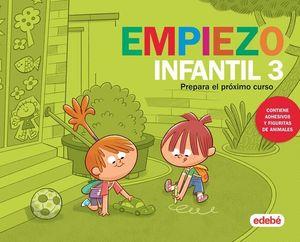 VACACIONES.  EMPIEZO INFANTIL 3 AÑOS  ED. 2019