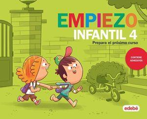 VACACIONES.  EMPIEZO INFANTIL 4 AÑOS  ED. 2019