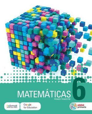 MATEMATICAS 6º EP TRIMESTRAL ED. 2019