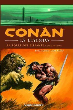 CONAN LA LEYENDA LA TORRE DEL ELEFANTE Y OTRAS HISTORIAS