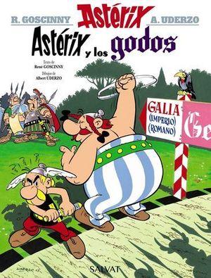 ASTERIX Y LOS GODOS