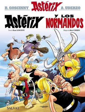 ASTÉRIX Y LOS NORMANDOS ED. 2017