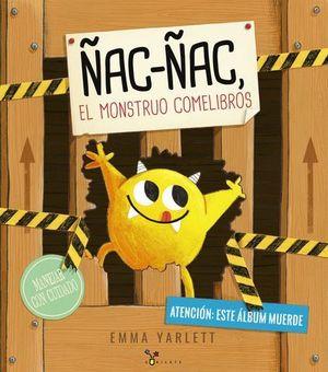ÑAC-ÑAC EL MONSTRUO COMELIBROS