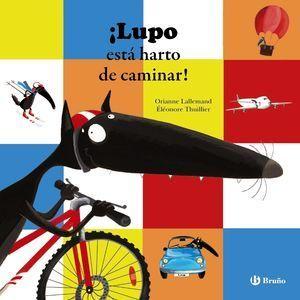 LUPO ESTA HARTO DE CAMINAR !