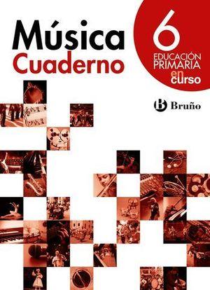MUSICA 6º EP EN CURSO CUADERNO ACTIVIDADES ED. 2015