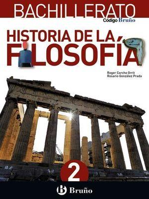 HISTORIA DE LA FILOSOFIA 2º BACHILLER ED. 2016