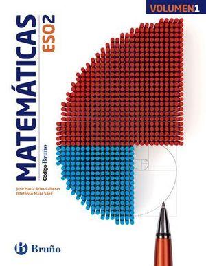 MATEMATICAS 2º ESO CODIGO BRUÑO TRIMESTRAL ED.2015