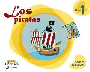 LOS PIRATAS 3 AÑOS PROYECTO QUIERO APRENDER