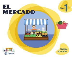 EL MERCADO 3 AÑOS PROYECTO QUIERO APRENDER