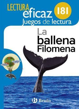 LA BALLENA FILOMENA. JUEGO DE LECTURA