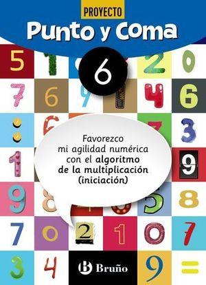 CUADERNO DE MATEMATICAS 6 PUNTO Y COMA