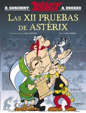 LAS XII PRUEBAS DE ASTERIX. EDICION ESPECIAL.