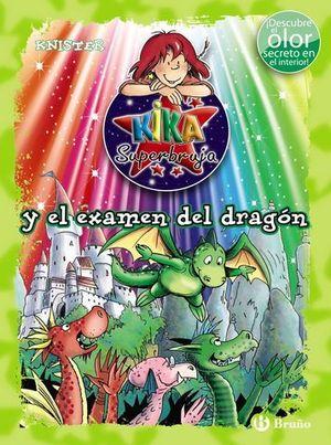 KIKA SUPERBRUJA Y EL EXAMEN DEL DRAGON ( ED. COLOR )