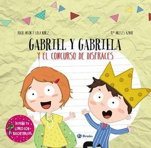 DISEÑA TU LIBRO CON RECORTABLES.  GABRIEL Y GABRIELA Y EL CONCURSO