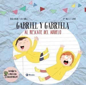 DISEÑA TU LIBRO CON RECORTABLES. GABRIEL Y GABRIELA AL RESCATE ABUELO