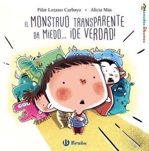 EL MONSTRUO TRANSPARENTE DA MIEDO...¡ DE VERDAD !