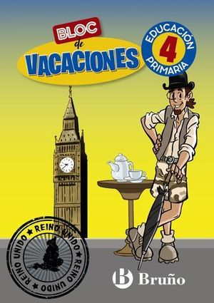 BLOC DE VACACIONES 4º EP  ED. 2020