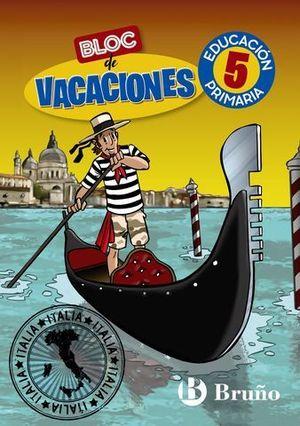 BLOC DE VACACIONES 5º EP  ED. 2020