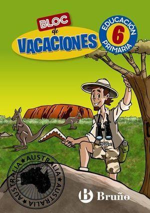 BLOC DE VACACIONES 6º EP  ED. 2020