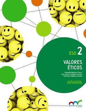 VALORES ETICOS 2º ESO APRENDER ES CRECER ED. 2016