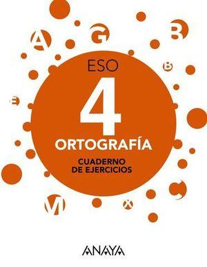 ORTOGRAFIA 4º ESO APRENDER ES CRECER ED. 2016