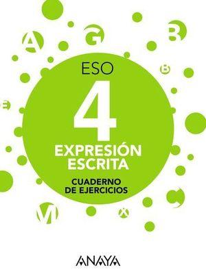 EXPRESION ESCRITA 4º ESO APRENDER ES CRECER ED. 2016