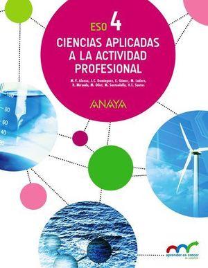 CIENCIAS APLICADAS A LA ACTIVIDAD PROFESIONAL 4º ESO ED. 2016