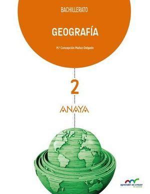 GEOGRAFIA 2º BACHILLER APRENDER ES CRECER ED. 2016