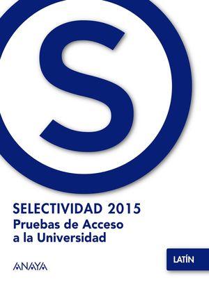 SELECTIVIDAD 2015 LATIN