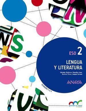 LENGUA Y LITERATURA 2º ESO APRENDER ES CRECER ED. 2016