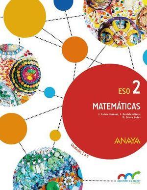 MATEMATICAS 2º ESO TRIMESTRA APRENDER ES CRECER ED. 2016