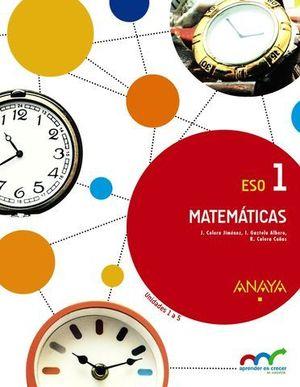 MATEMÁTICAS 1. ANDALUCÍA
