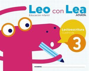 LEO CON LEA 3 CUADRICULA  ED. 2017